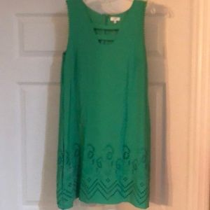 Crown & Ivy green Seahorse dress size 12